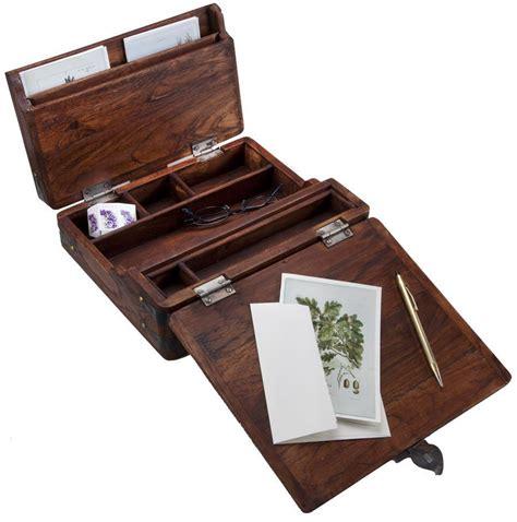 writing box plans   campaign desk lap desk