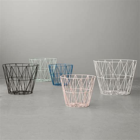 Wire Basket Ferm Living ferm living wire basket in the design shop