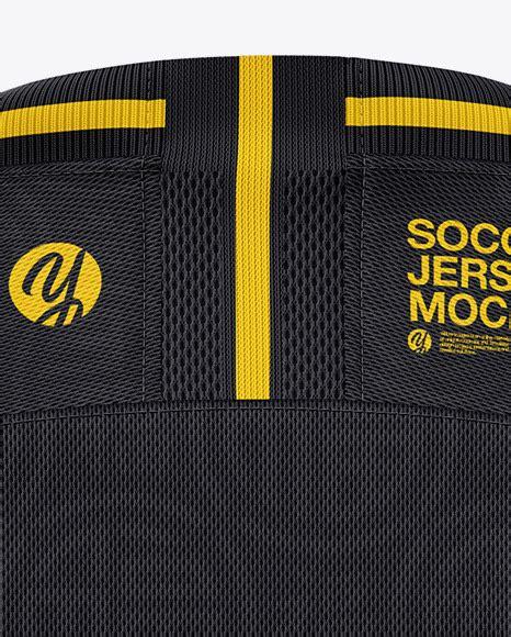 Free soccer jersey mockup (psd). Jersey Logo Mockup