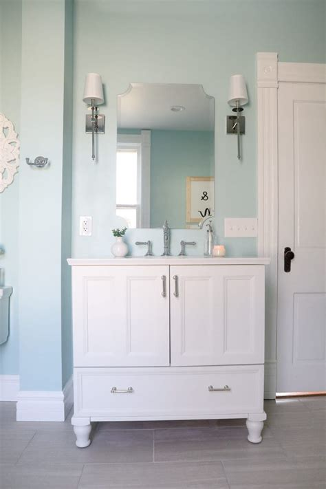 fixer upper bathroom   afters  heart nap time