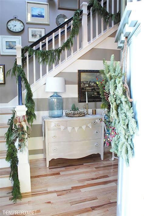 Inspired Christmas {stairways}  The Inspired Room