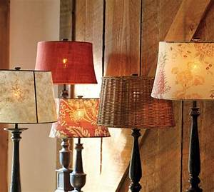 woven wicker tapered drum lamp shade pottery barn With drum lamp shades lighten up your day