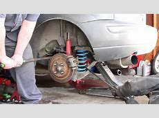 Ford Focus Rear Spring Removal YouTube
