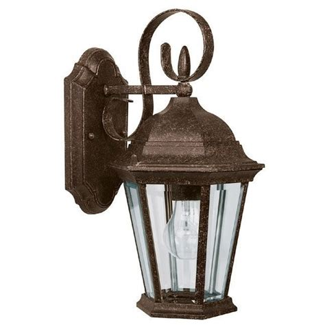 capital lighting carriage house 1 light outdoor wall