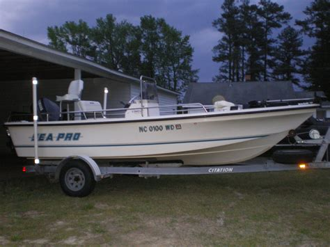 Sea Pro Bay Boat 1997 sea pro bay boat the hull boating and