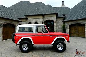 1971 Ford Bronco New 302 Crate Engine New Everything