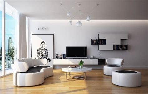 Living Rooms Round Up : White Living Room Furniture Ideas In Narrow Living Room