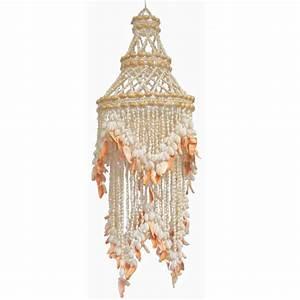 Ariel one light sea shell chandelier rosenberryrooms