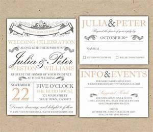 free wedding invitation suite templates sampletemplatess With free wedding invitation suite printables