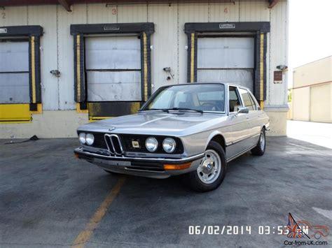 amazing bmw 530i 1976 bmw 530i only 53k amazing car engine and
