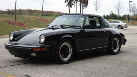1986 porsche targa for sale 1986 porsche 911 carrera targa black black 49 908 miles