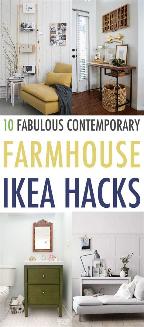 10 Fabulous Contemporary Farmhouse Ikea Hacks  Best Of