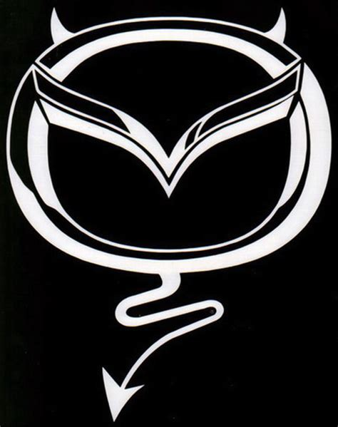 stencil of mazda emblem - RX8Club.com