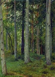 Forest - Ivan Shishkin - WikiPaintings.org