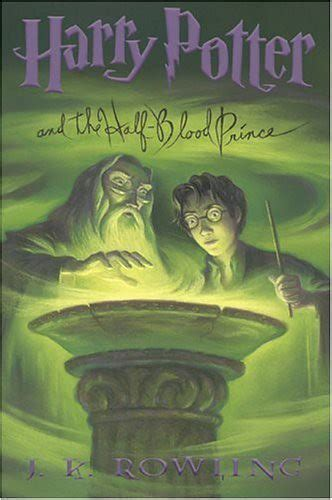 harry potter    blood prince book cover