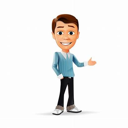 Cartoon Transparent Character Animated Person Clipart Male