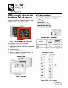Silentknight 5860  5860r Remote Annunciator User Manual