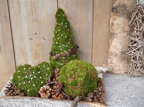 moosdeko erweitert bilder und fotos weihnachten deko weihnachten deko winter weihnachten