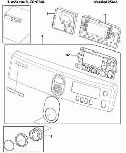 Samsung Model Dv448aep  Xaa