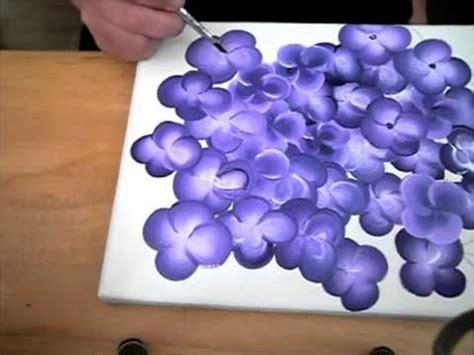 ratgeber zweifarbige kleine blueten mit acrylfarbe malen