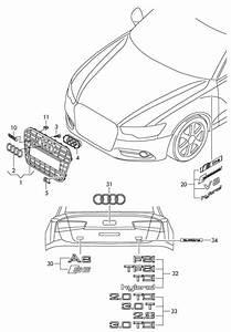 Audi A6 Chrome  Silver  Respectively  Tfsi