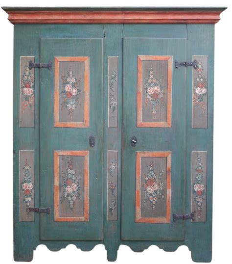 armadio dipinto armadio dipinto tirolese a due ante antichit 195 missaglia