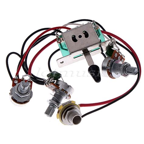 Pickup Switch Pots Jack Wiring Harness For Fender