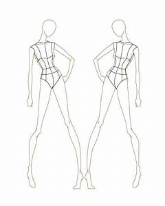 Sketch, Female Fashion, Fashion Templates, Fashion Sketch ...
