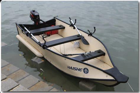 Folding A Boat by Haishe Portable Small Boats Folding Boat Hs 380 Free