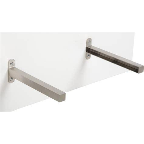 plan de travail cuisine verre equerre d 39 extrémité aluminium inox l 23 5 x l 2 cm
