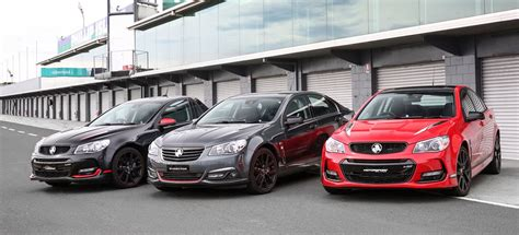 holden commodore limited editions