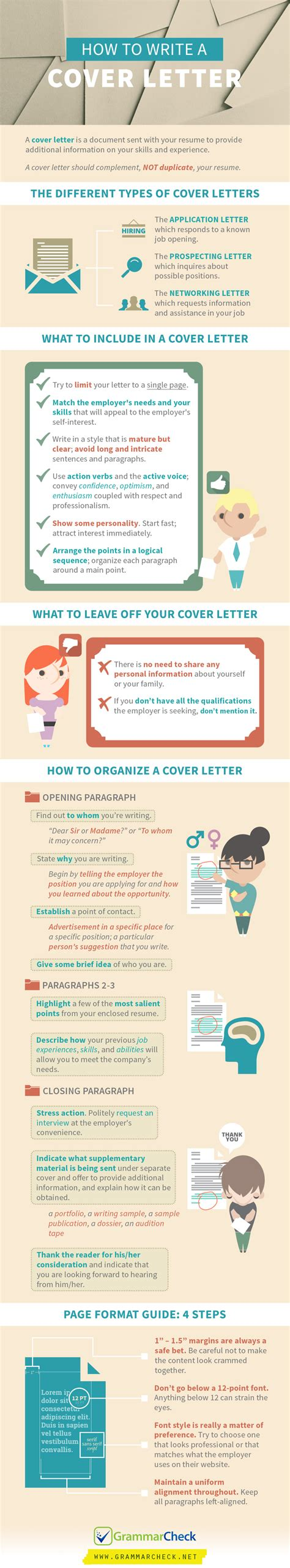 How To Write An Excellent Cover Letter For A by Free Education For All