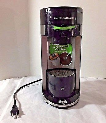 We reviewed the hamilton beach 49981a coffee maker and here's what we found out. Hamilton Beach K Cup Compatible Single Serve Coffee Maker Brewer Tested   Hamilton beach, Brewer