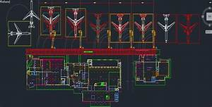 Airport Architectural Drawings Free Dwg   Airport