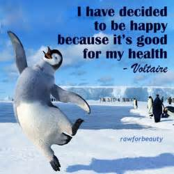 Penguin Happy Quote