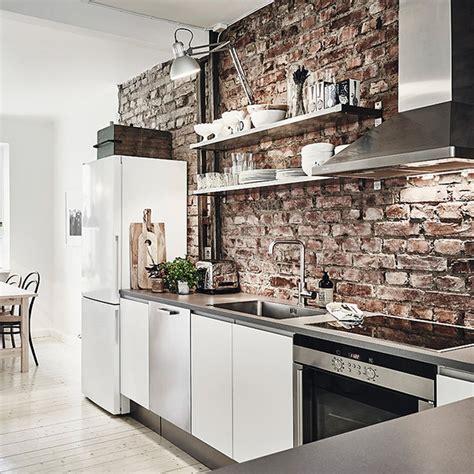 mur en cuisine quel intérieur pour ma cuisine industrielle