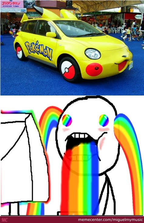 Cars That Run On Electricity by Pika Car It Runs On Electricity By Miguelmymusic Meme
