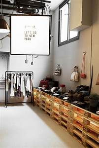 Design Shop 23 : ideas de decoraci n con palets para una tienda decorar con palets palets y tiendas ~ Orissabook.com Haus und Dekorationen