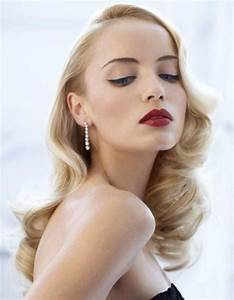 Coiffure Des Années 50 : coiffure vintage ann es 40 coiffure vintage nos plus belles inspirations pour un look ~ Melissatoandfro.com Idées de Décoration