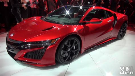 WORLD DEBUT: Honda NSX - NAIAS 2015 - YouTube