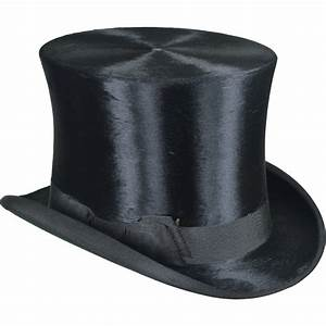 Antique Hawes Beaver Top Hat - 835 Broadway New York ...