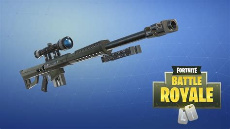 Epic Finally Confirms Fortnite's Heavy Sniper Is Coming