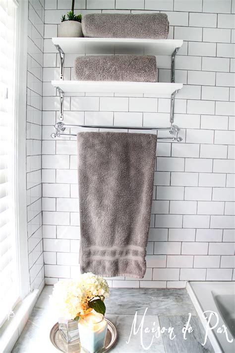 complete  bathroom  storage  towel homesfeed
