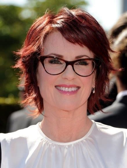 30 best medium length hairstyles for 50 with glasses
