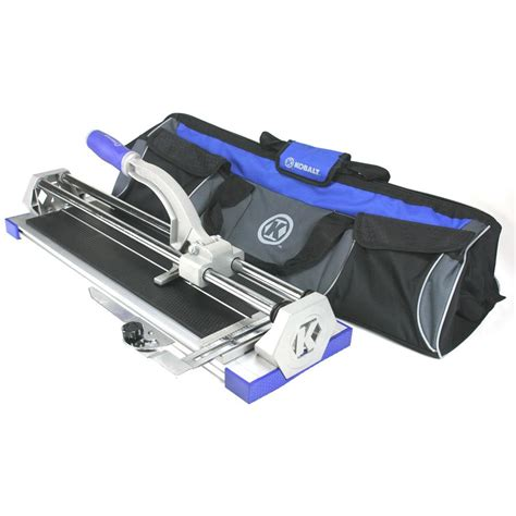 shop kobalt 20 in tile cutter at lowes com