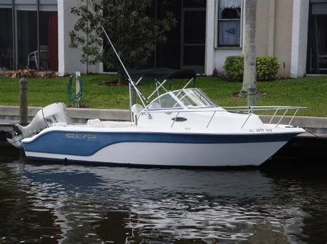 Sea Pro Boats Stuart Florida by 2008 Sea Fox 216wa Pro Series Stuart Florida Boats