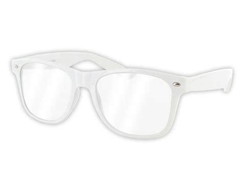 Farbige Party Atzen-brillen Hipster Hornbrille Nerd-brille Party Klar Neu V-816e
