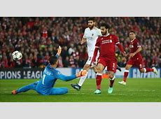 Video Higlights Cuplikan Gol Liverpool vs AS Roma, 25