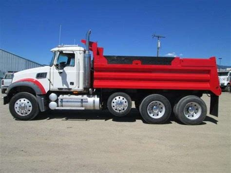 2007 mack granite ctp713 heavy duty dump truck for sale
