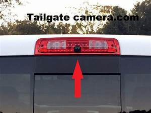 3rd Brake Light Backup Camera For 2013